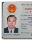 Authenticated copy of Vietnamese ID card of authorized Vietnamese person